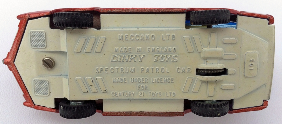 Dinky Toys 103 SPC Replacement  Instruction Sheet