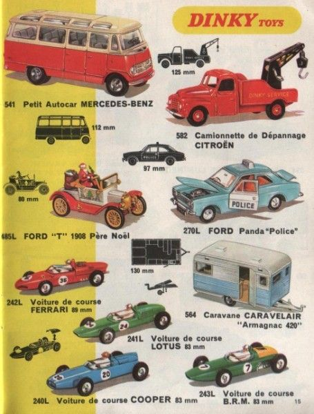485 Santa Special Model T Ford Dinky Toys Tv Shows