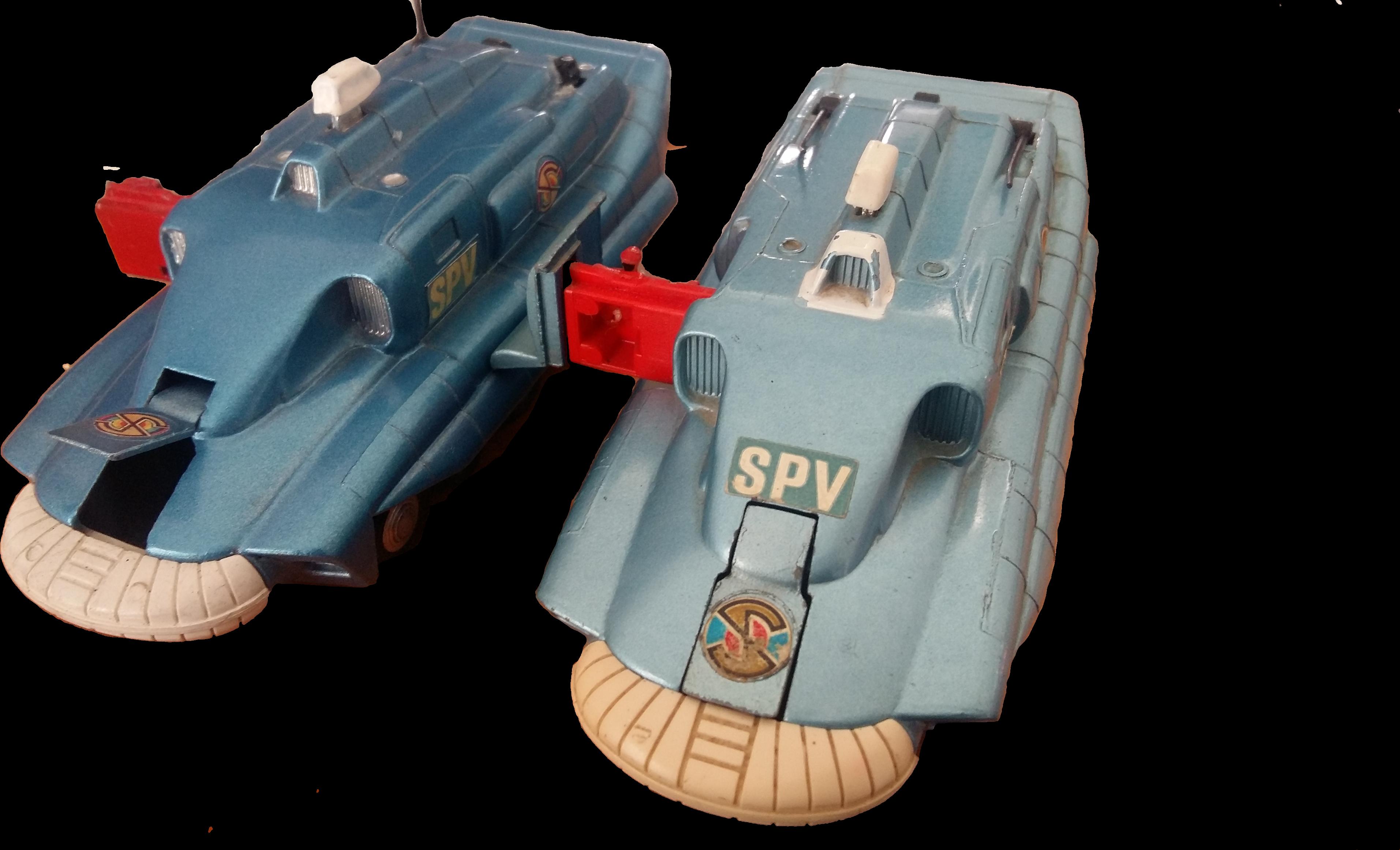 SPV Reproduction Plastic Missile Dinky SHADO 2 FAB1